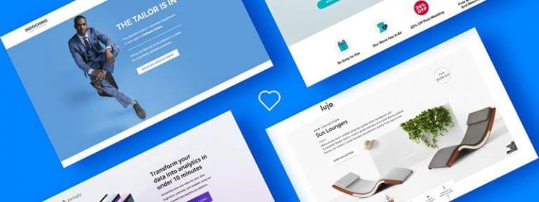 website design for B2B tech companies